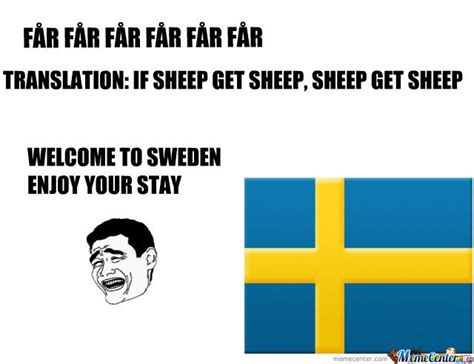 Swedish Meme - welcome to sweden by kickassia meme center