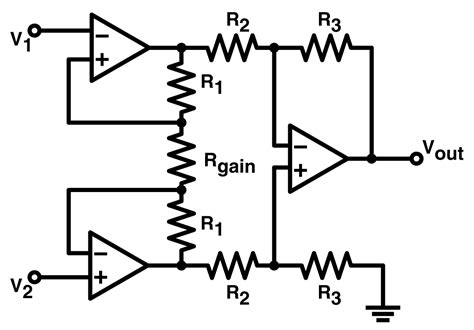 current sense resistor differential lifier op differential lifier with differential output and common mode shift electrical