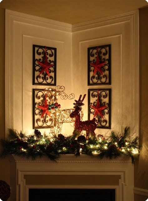 607 best christmas mantels images on pinterest christmas