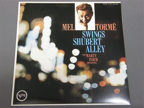 mel torme swings shubert alley mel torme swings shubert alley 18mj 9026 アナログレコード 詳細ページ