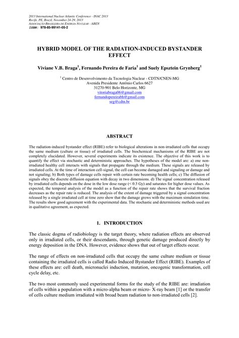 research design bystander effect hybrid model of the radiation induced pdf download