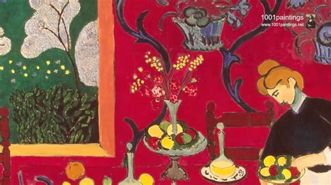 room matisse the dessert harmony in the room by the painter henri matisse