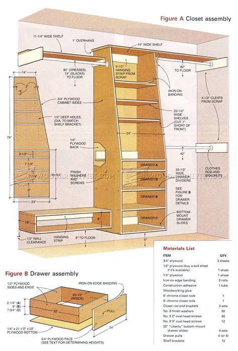 Built In Closet Plans ? WoodArchivist