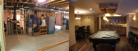 Cheap Kitchen Remodel Ideas Before And After by Basement Remodels Before And After Smalltowndjs Com