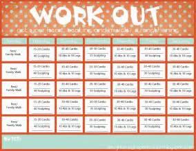 exercise calendar template printable workout calendar 2017 printable calendar