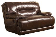 Stratolounger The Big One Nimbus Umber Recliner by 379 Stratolounger 174 Calais Oversized Chocolate Recliner At