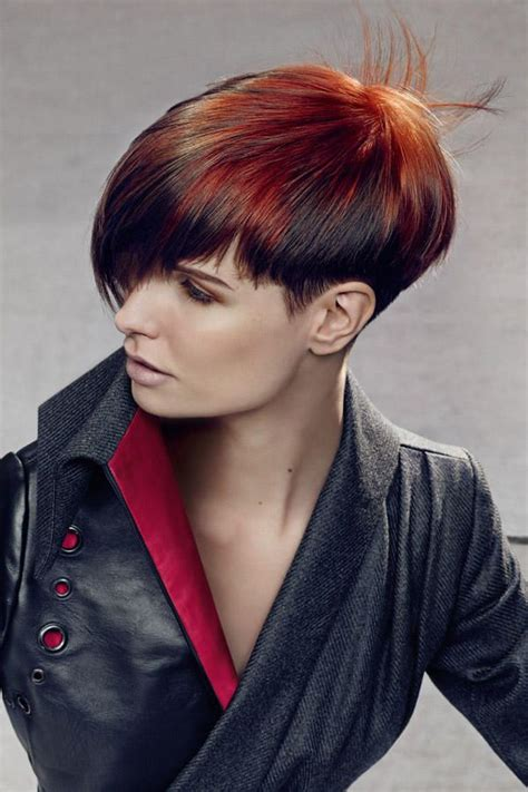 kurzhaarfrisuren  die trends fuer den winter