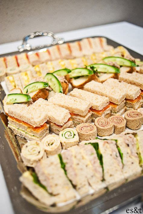 25 best ideas about mini party sandwiches on pinterest