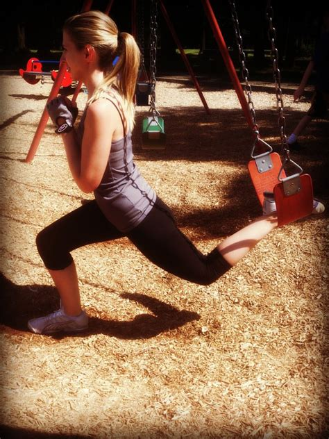 squat swing park workout part 2 10 minute circuit using just a swing