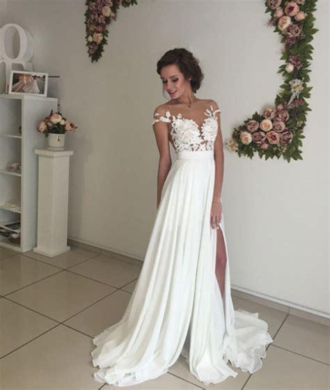 Dress W5796uzi D Black White formal dress white prom dress a line chiffon