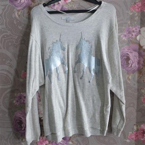 Pakaian Wanita Pre Loved 12 zara unicorn sweater preloved fesyen wanita pakaian wanita di carousell