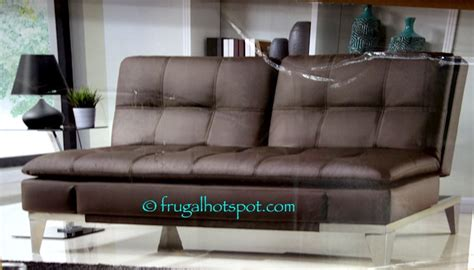 euro lounger sofa bed costco costco lifestyle solutions euro lounger 399 99 frugal