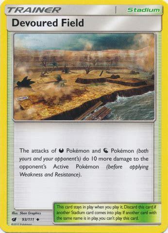 Kartu Trainer Devoured Field Uncommon Holo devoured field 93 111 uncommon trading card