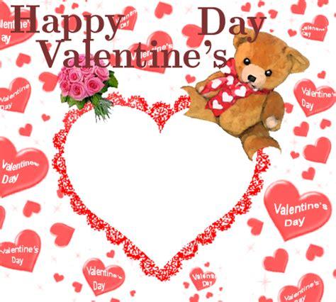 valentines day photo frame photo frames happy s day teddy