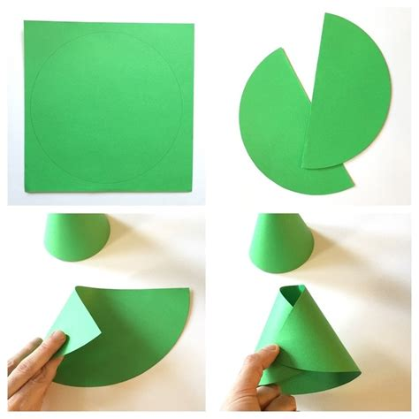 How To Fold A Cone Out Of Paper - cone shaped frog 183 how to make a paper model 183 papercraft