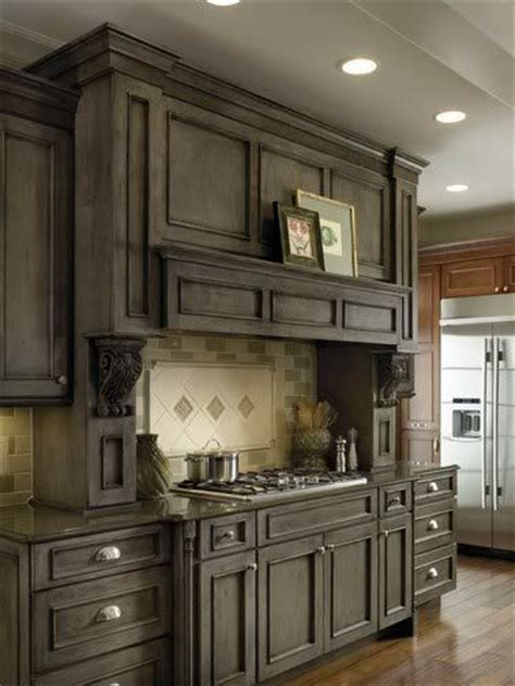 25 best ideas about gray stained cabinets on