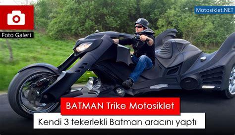batman trike motosiklet kendi  tekerlekli batman aracini