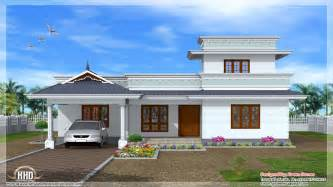 One Story Craftsman Home Plans Kerala Single Floor House Designs Normal House In Kerala