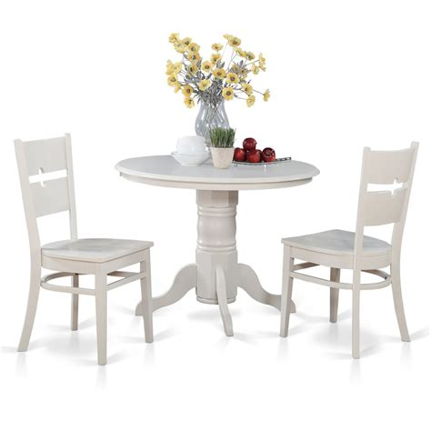 Small Kitchen Table With Bench Seating by 3 Pc Small Kitchen Table Set Table With 2 Dinette Chairs