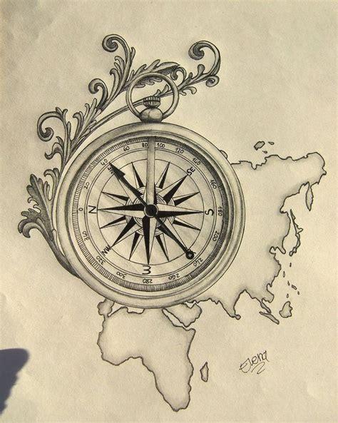 compass tattoo sketch please visit my page and click quot like quot www facebook com