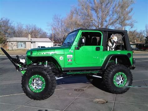 Lime Green Lifted Jeep Lime Green Jeeps Search Jeeps