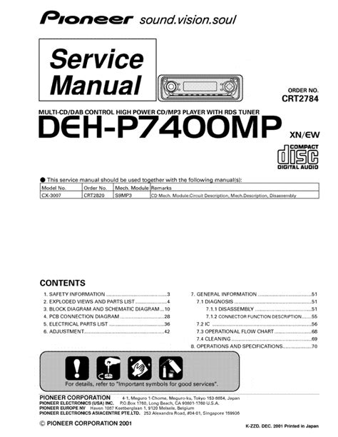 pioneer deh p7400mp wiring diagram fitfathers me