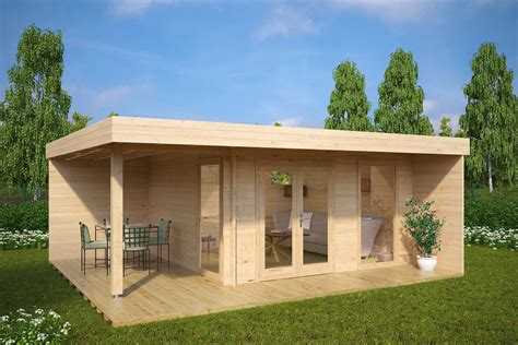 veranda holz contemporary garden rooms from experts summer house 24