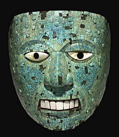 imagenes mitologicas zapotecas mascaras primitivas