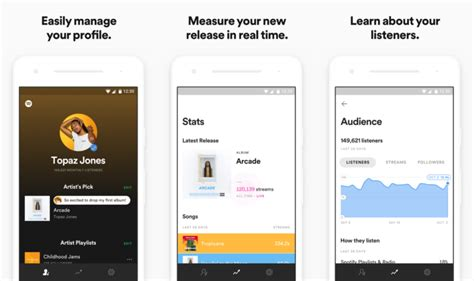 spotify android app apk spotify for artists app is now available on android apk shoppingfind