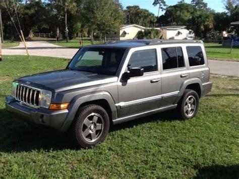 08 Jeep Commander Purchase Used 08 Jeep Camander Sprt 4x4 Third Row 4x4