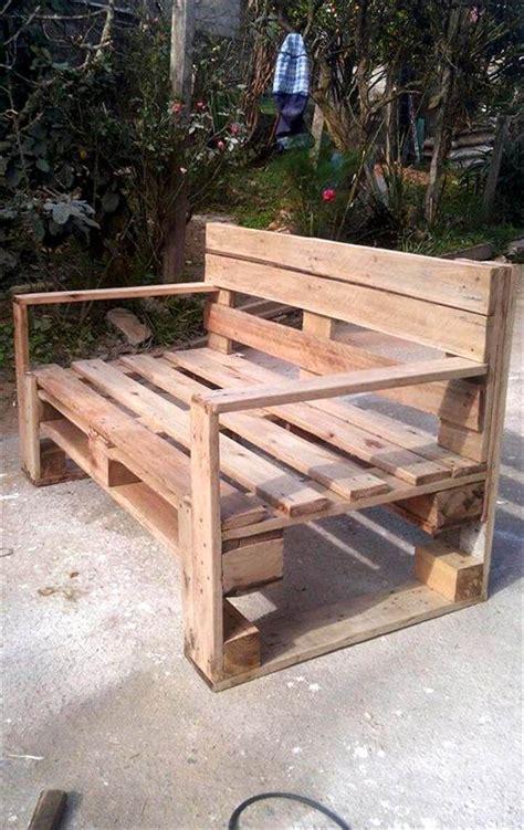 wood pallet bench 6 diy pallet wood ideas by edy 101 pallet ideas