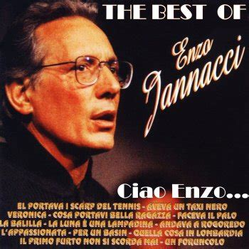 jannacci testi testi ciao enzo the best of enzo jannacci enzo jannacci