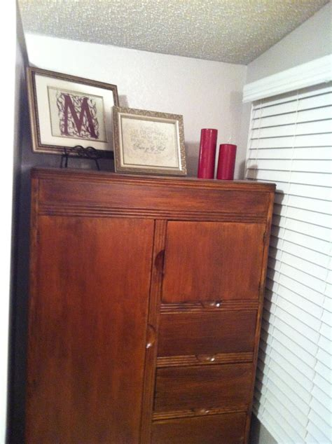 refinished armoire refinished armoire home sweet home pinterest