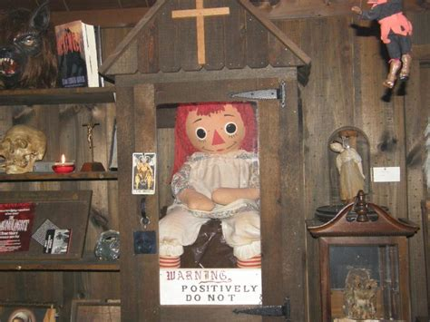 annabelle doll museum ingather research where reality meets research 187 the
