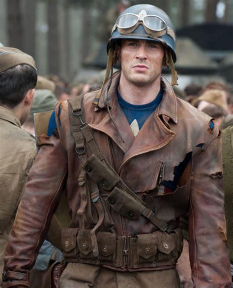 Ready Gan Flight Bomber Rodmax chris captain america motorcycle jacket