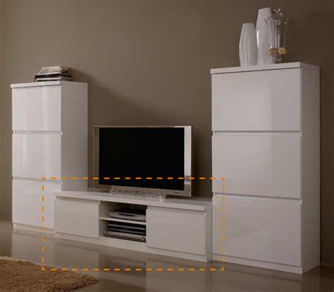 Superbe Meuble Tv Hifi Blanc Laque #4: Meubles-tv-hifi-roma-laque-blanc-blanc-l-150-x-h-45-x-p-50.jpg