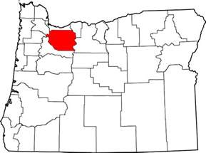 map of oregon showing counties file map of oregon highlighting clackamas county svg