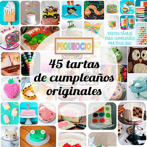 tartas originales para hacer en casa 45 tartas de cumplea 241 os 161 originales pequeocio