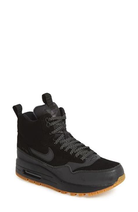 waterproof sneakers nike nike air max 1 mid waterproof sneaker in black black