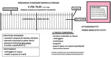 ringhiera da esterno ringhiere prezzi on line ringhiere recinzioni