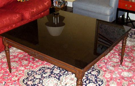 glass top to protect wood table glass table tops chicago il