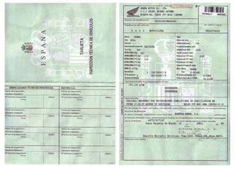 tarjeta de circulacion de vehiculos para realizar la itv necesitas la tarjeta de inspecci 243 n