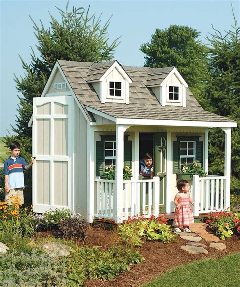 backyard cottage kits 1000 images about twins playhouse ideas on pinterest
