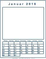 Kalender 2018 Zum Ausdrucken Und Gestalten Bastelkalender F 252 R Kinder Im Kidsweb De