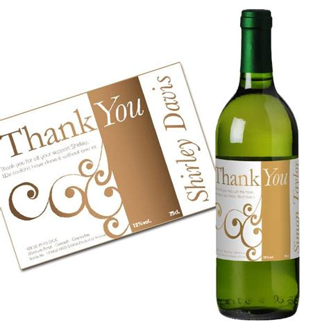 thank you letter wine gift great quot thank you quot present ideas for boys and