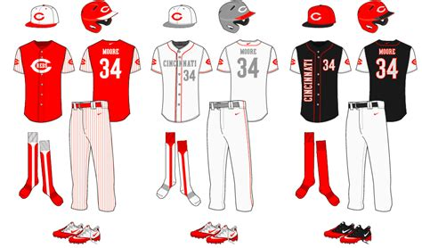 new baseball uniform template concepts chris creamer
