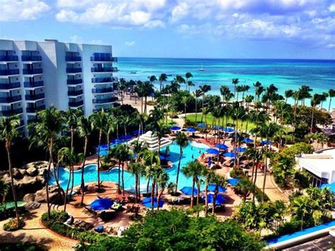 Marriott Aruba Surf Club Floor Plan by View From Room Tradewinds Floor 824 Picture Of Marriott