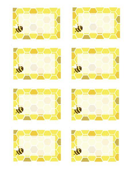 bee card template everyday honeybee printables