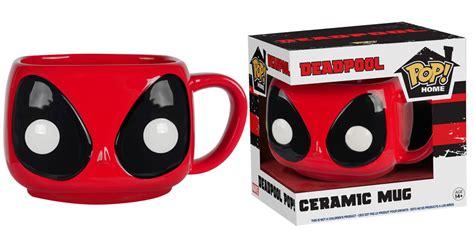 funko deadpool mopeez plush deluxe mug