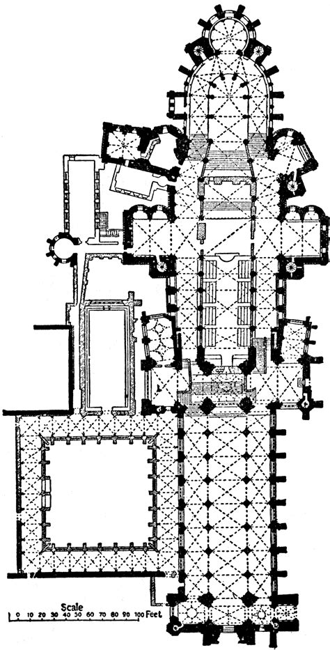 canterbury cathedral floor plan canterbury cathedral clipart etc